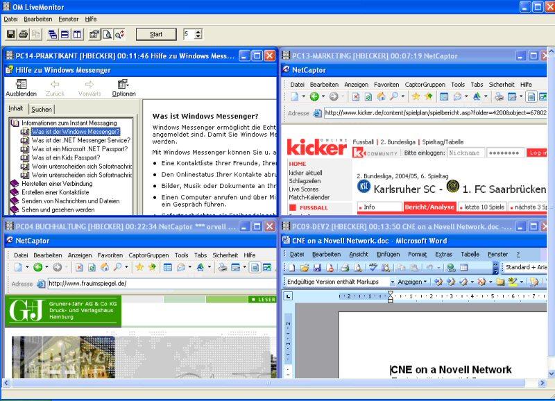 Die leistungsstärkste und nicht nachweisbare Überwachungssoftware für Windows PC